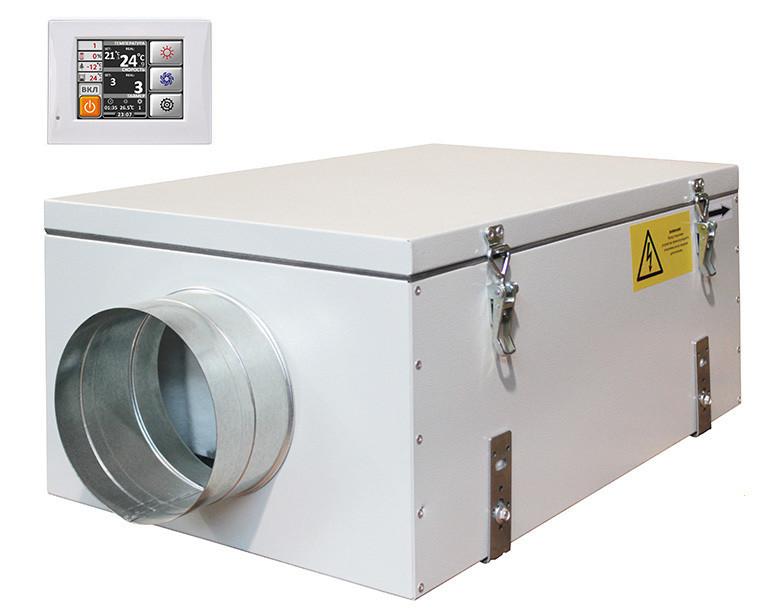 Приточная вентиляционная установка Благовест ФЬОРДИ ВПУ 500 ЕС/3-220/1-GTC