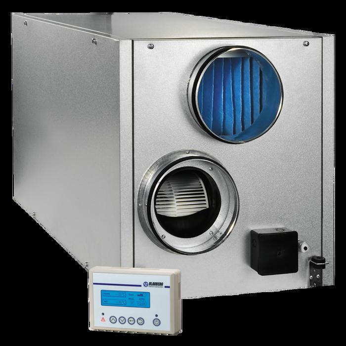 Приточно-вытяжная вентиляционная установка с рекуператором Blauberg KOMFORT LE350-3 S16