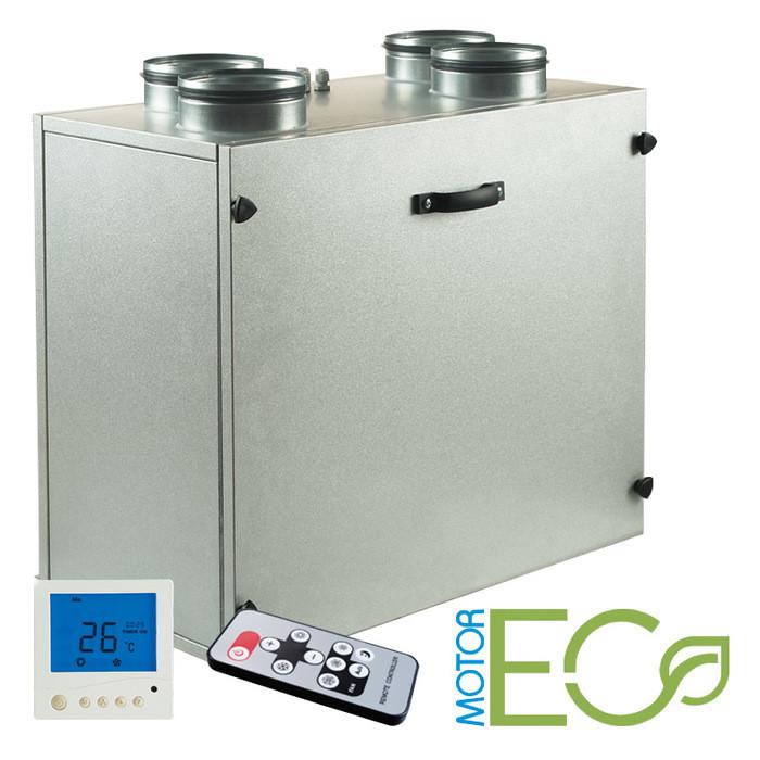 Приточно-вытяжная вентиляционная установка 500 Blauberg KOMFORT EC SE320-2x2