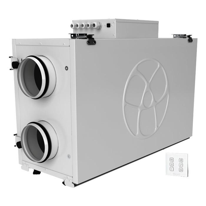 Приточно-вытяжная вентиляционная установка 500 Blauberg KOMFORT Ultra EC L 300-H S14
