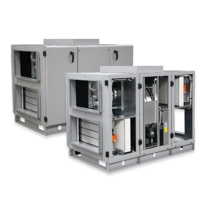 Приточно-вытяжная вентиляционная установка 500 DVS RIRS 400 VW EKO 3.0