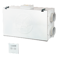 Компактная моноблочная приточно-вытяжная установка Blauberg KOMFORT Ultra L250-E S12