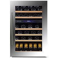 Встраиваемый винный шкаф 51-100 бутылок Dunavox DX-57.146DSK