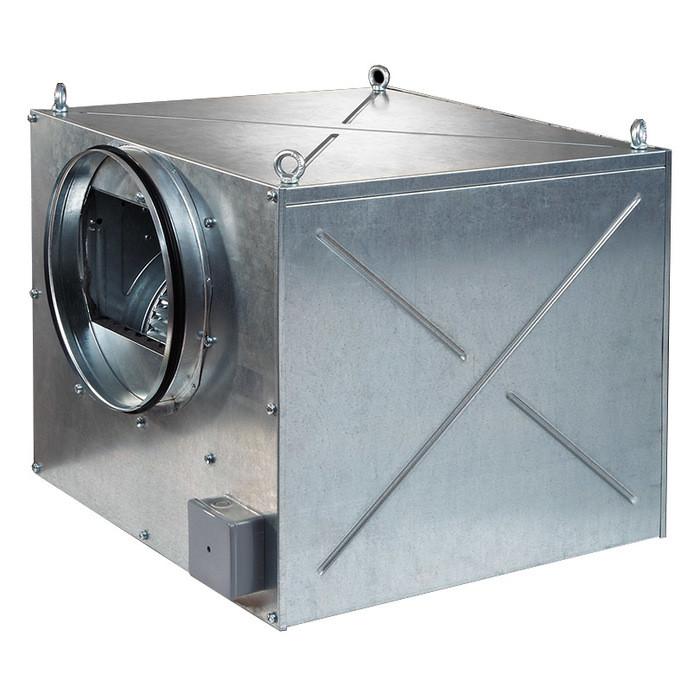 Канальный вентилятор Blauberg Iso-ZS 250 6E max