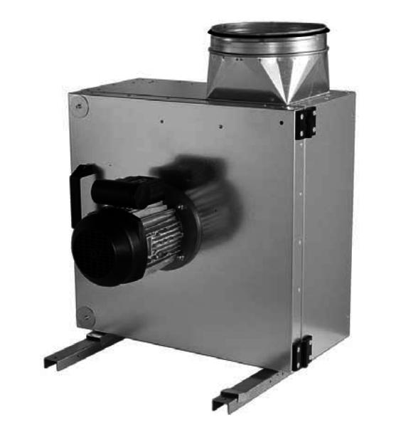 Жаростойкий (кухонный) вентилятор Shuft EF 225Е 1ф