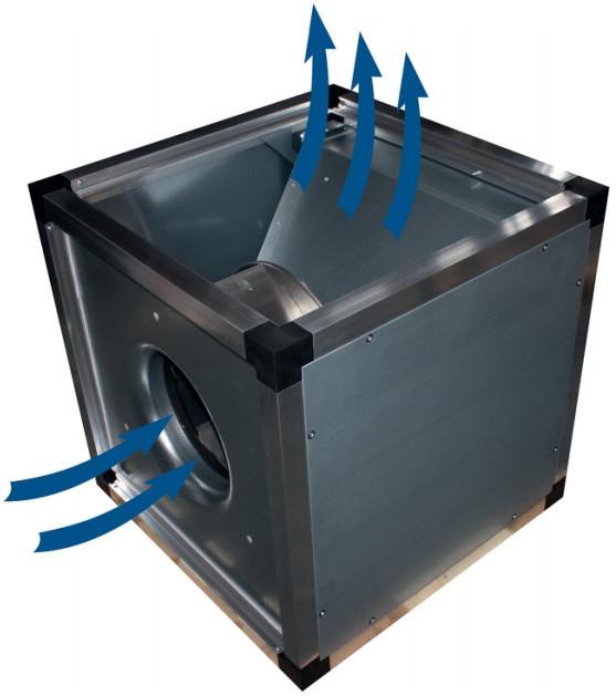 Жаростойкий (кухонный) вентилятор Systemair MUB/T 042 450EC