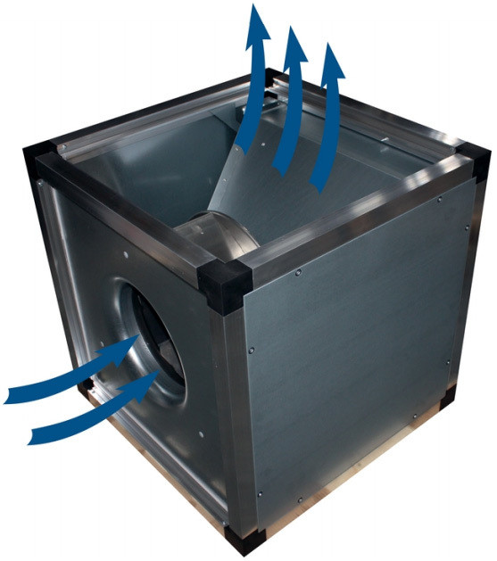 Жаростойкий (кухонный) вентилятор Systemair MUB/T 042 500EC