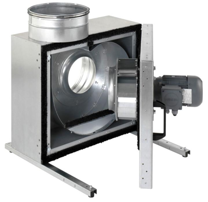 Жаростойкий (кухонный) вентилятор Systemair KBT 250D4 IE2 Thermo fan