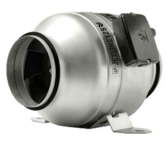 Канальный вентилятор Soler & Palau JETLINE-125 N8