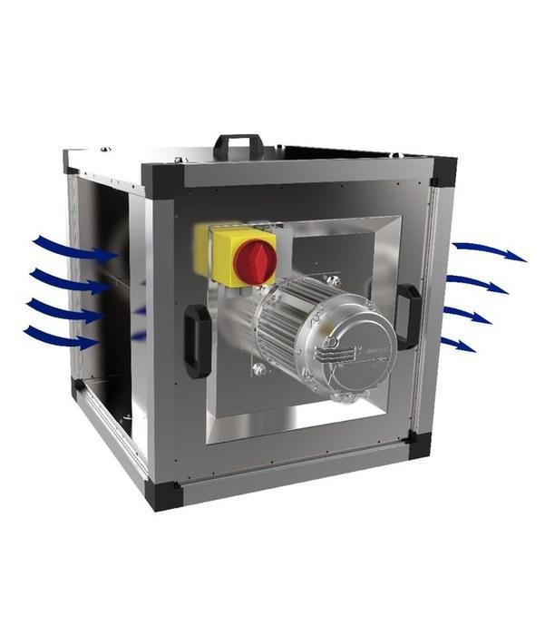 Жаростойкий (кухонный) вентилятор Systemair MUB/T-S 042 450EC-K Poti
