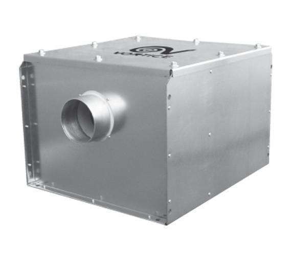 Канальный вентилятор Vortice VORT QBK QUIET 125