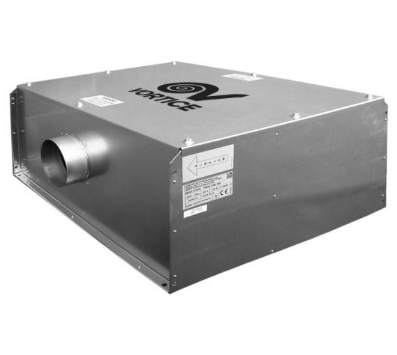 Канальный вентилятор Vortice VORT TF 250