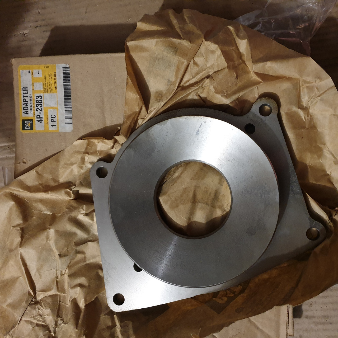 4P-2383 Адаптер помпы  Water Pump Inlet Adapter MARINE PRODUCTS C18, 3406C, 3406B, C15, 3406E