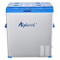 Автохолодильник компрессорный Alpicool A75 (75 л.) 12-24-220В синий