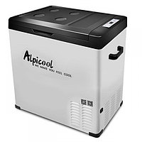 Компрессорный автохолодильник Alpicool C75 с внешней батареей