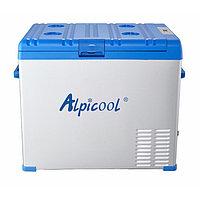 Автохолодильник компрессорный Alpicool A50 (50 л.) 12-24-220В синий