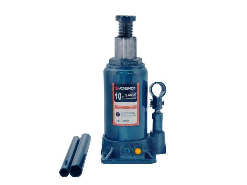 Forsage Домкрат бутылочный 10т низкий  с клапаном (h min 160мм, h max 290мм) Forsage F-T91007 9608