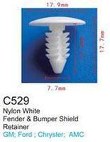 Forsage Клипса для крепления внутренней обшивки а/м GM пластиковая (100шт/уп.) Forsage клипса C0529(C529)(GM)