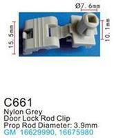 Forsage Клипса для крепления внутренней обшивки а/м GM пластиковая (100шт/уп.) Forsage клипса F-C661( GM )