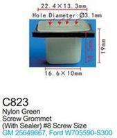 Forsage Клипса для крепления внутренней обшивки а/м GM пластиковая (100шт/уп.) Forsage клипса F-C823( GM )