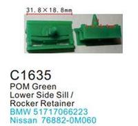 Forsage Клипса для крепления внутренней обшивки а/м БМВ пластиковая (100шт/уп.) Forsage клипса F-C1635(BMW)