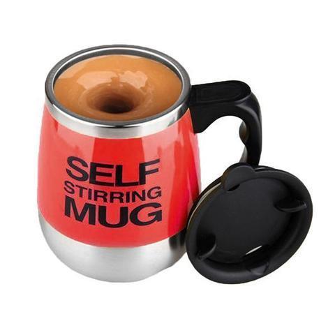 Термокружка самомешалка «Self Mixing Mug» (Красный)