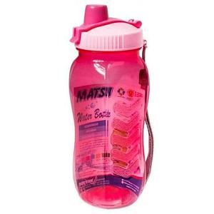 Бутылка питьевая для воды с поилкой MATSU [350, 500, 1000 мл] (Розовый / 500 мл)