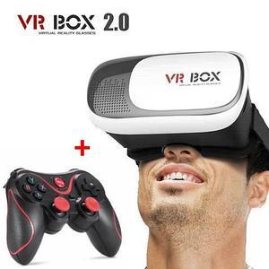 Очки для игр в виртуальной реальности VR BOX II [+ bluetooth-геймпад]