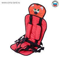 Детское удерживающее устройство «Котик», группа 3, цвет красный