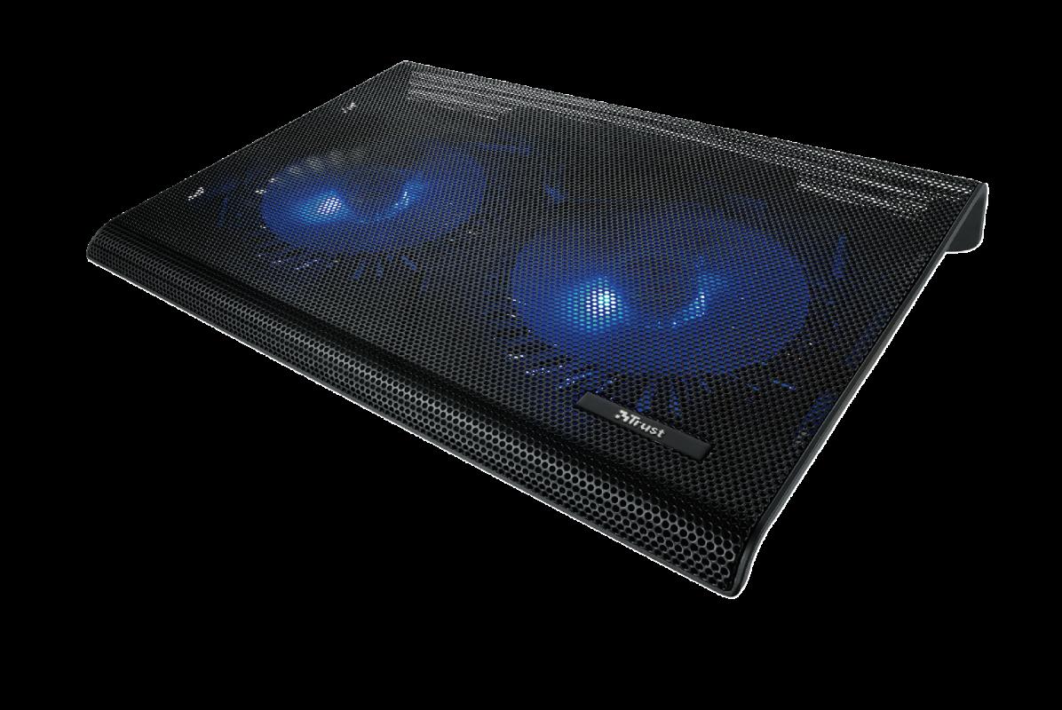 TRUST 20104 подставка для ноутбука охлаждающая Notebook Cooling Stand Azul  (Black)