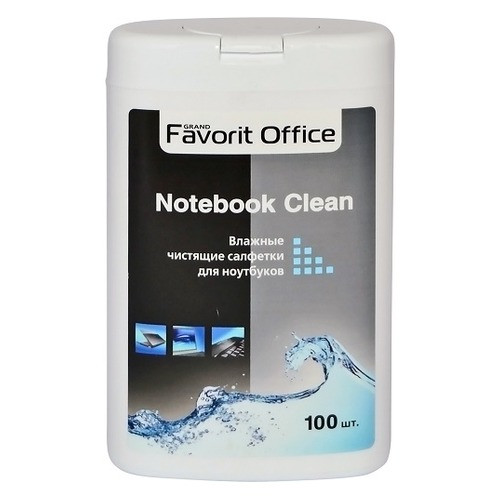 """Влажные салфетки для ноутбуков F430029 """"FAVORIT OFFICE"""" Notebook Clean (фляга - 100 шт) /"""