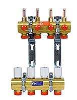 GIACOMINI Сборный коллекторный узел с расходомерами R553FY043