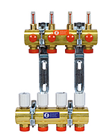 GIACOMINI Сборный коллекторный узел с расходомерами R553FY044