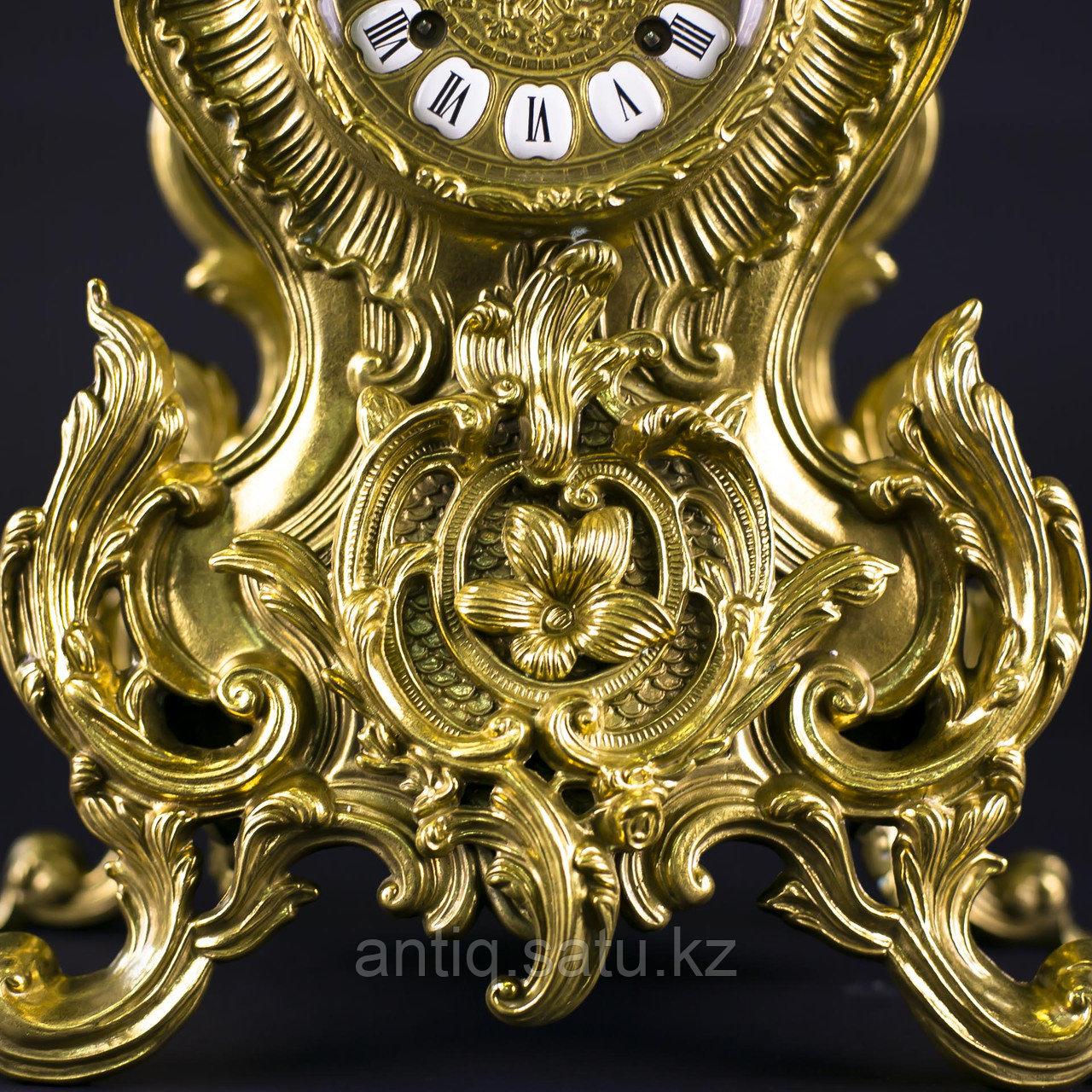 Часовой гарнитур в стиле Неорококо Часовая мастерская Franz Hermle & Sohne - фото 10