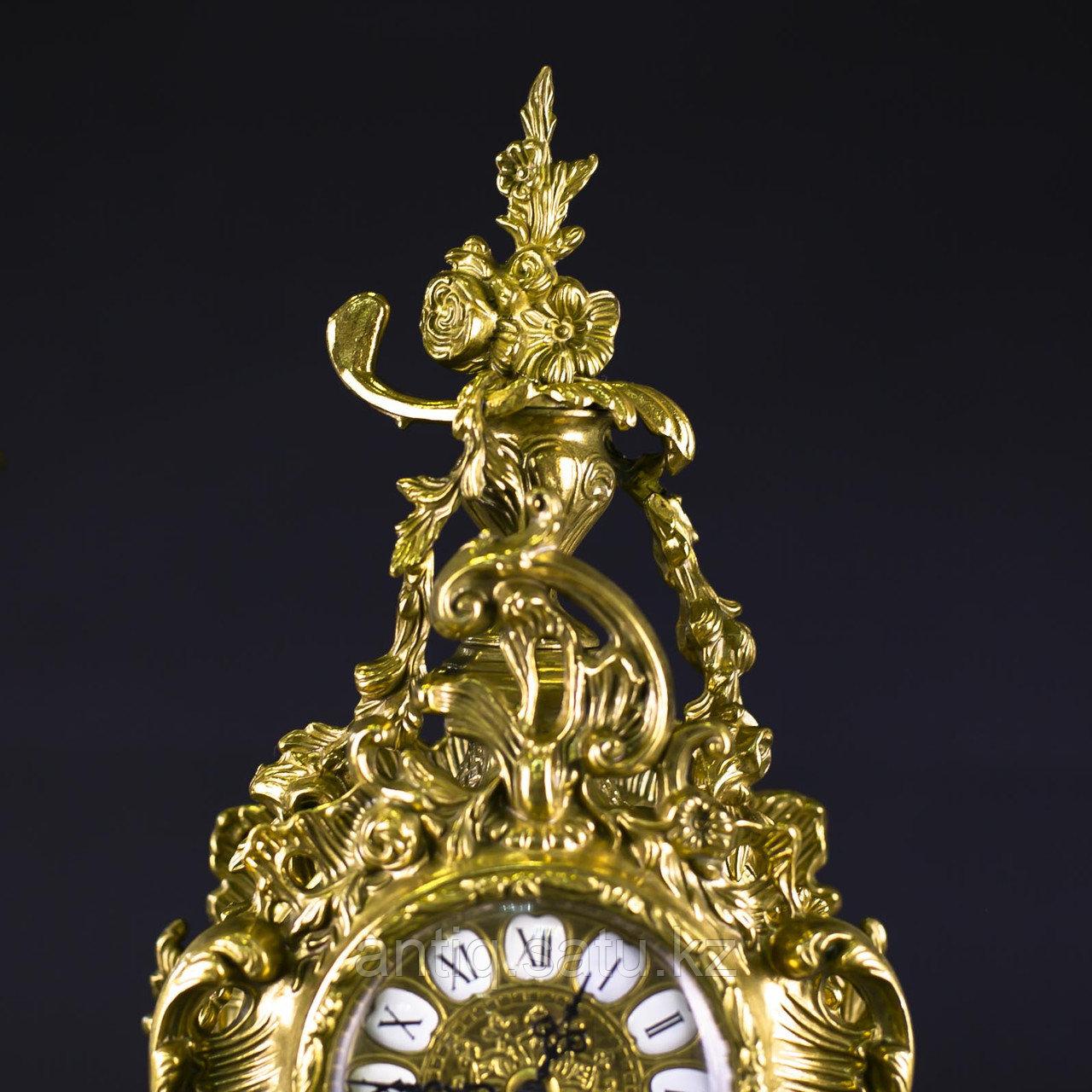Часовой гарнитур в стиле Неорококо Часовая мастерская Franz Hermle & Sohne - фото 7