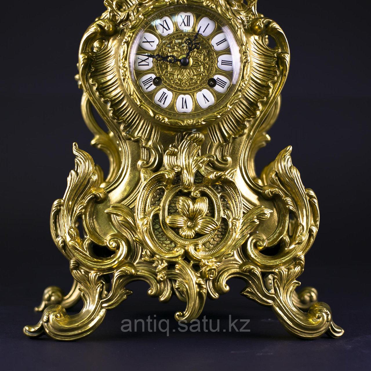 Часовой гарнитур в стиле Неорококо Часовая мастерская Franz Hermle & Sohne - фото 9