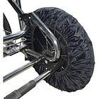 Чехлы на колёса большого диаметра для прогулки 4 шт в комплекте BAMBOLA (D=35,5 см)