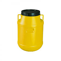 Бак для воды пластиковый с крышкой 50л