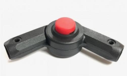 TUTIS Сустав на капор (красная кнопка)