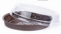 Пластиковая крышка для круглых форм 180*22мм. 200шт.
