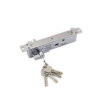 Соленоидный замок Smartec ST-DB525MLT, НЗ с ключом