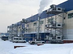 """2019 год. ADRIAN Group. Строительный супермаркет """"Сити Строй """" г. Алматы . 25 000 м2 . Оборудование : Газовые воздушные теплогенераторы ADRIAN Air MID -2190 B - 6 ед , общей мощностью 1 200 кВт"""