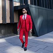 Красный костюм 3-ка: «QUESTE»