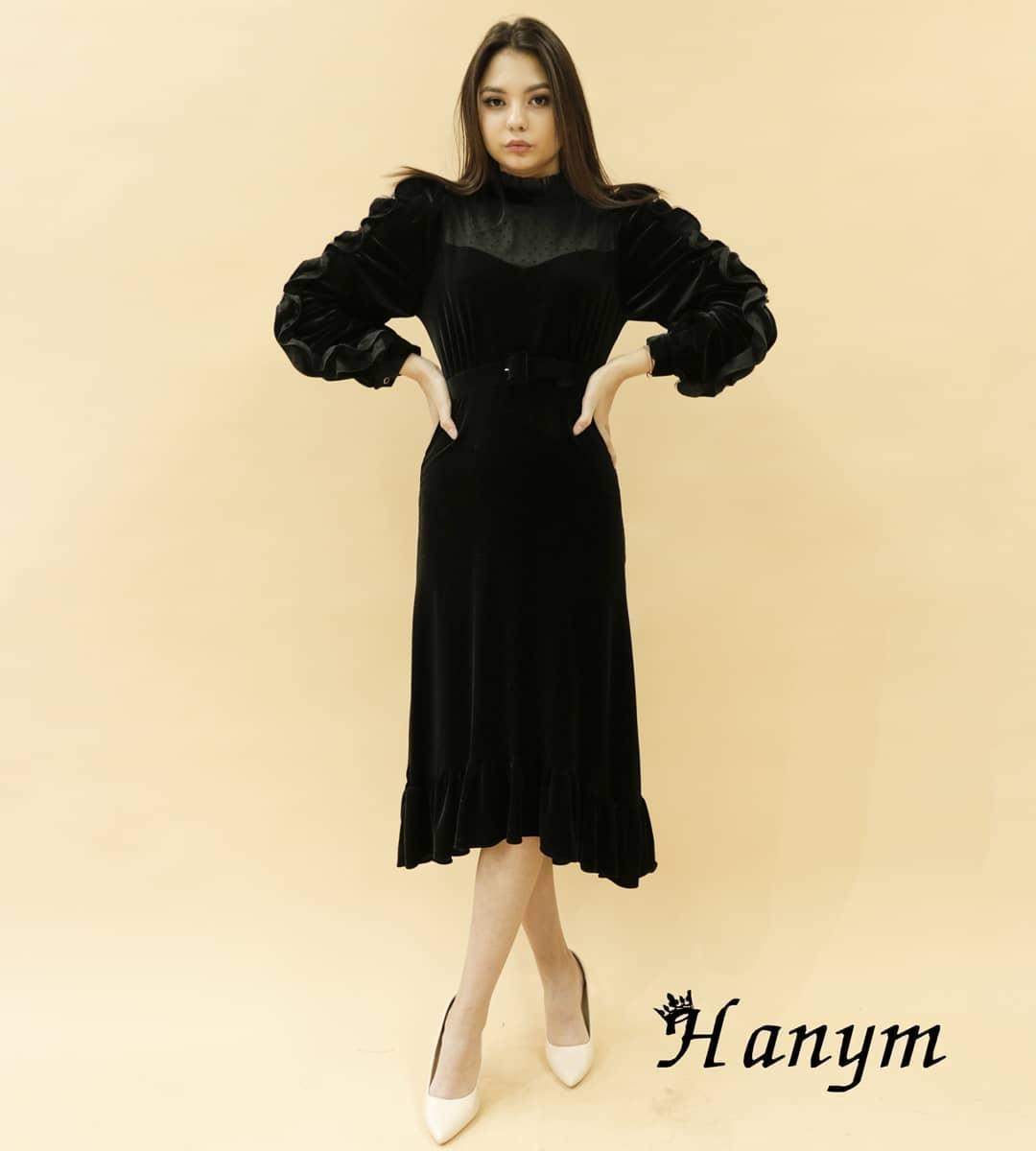 Женское платье (черное) free size