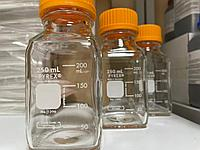 Бутыль квадратный, прозрачный 250 мл., 10 шт/упак, Corning