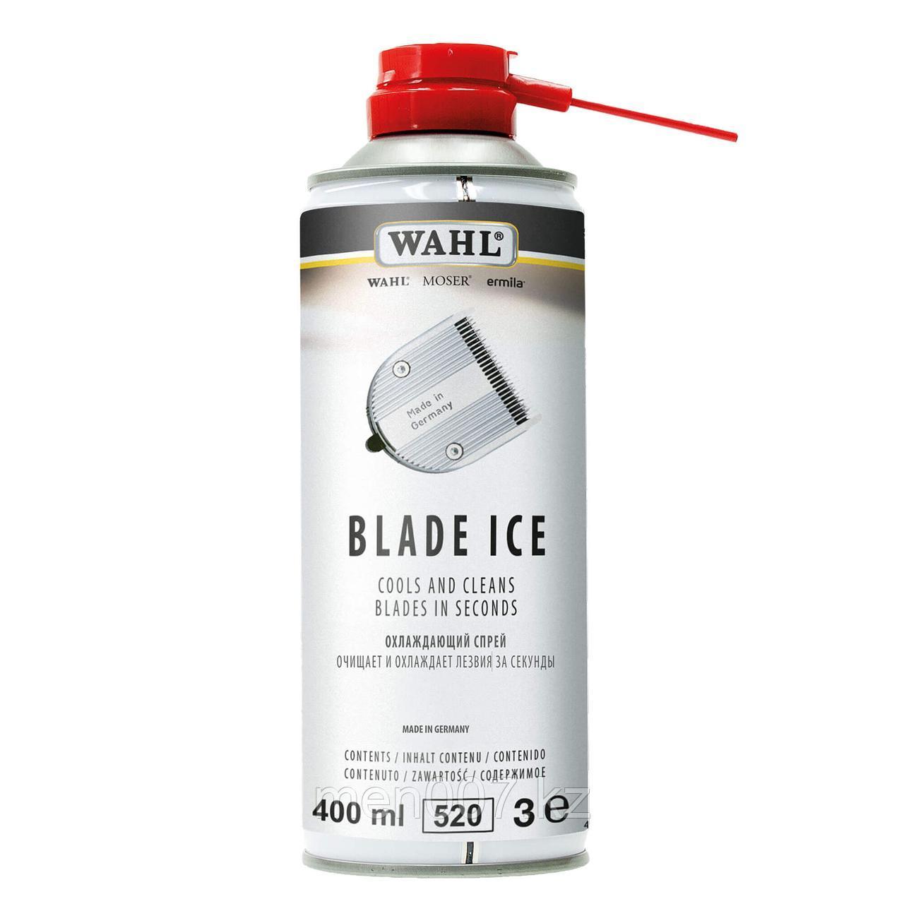 Wahl Blade Ice Спрей охлаждающий для ухода за ножами машинок, 400 мл