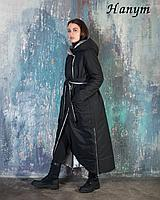 Женская куртка (двухсторонняя black / silver) 36-46 (Италия)