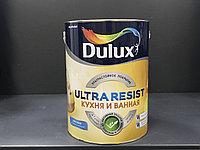КРАСКА ИНТЕРЬЕРНАЯ МАТОВАЯ Dulux Ultra Resist Кухня и Ванная BW 5л.