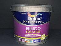 КРАСКА для ФАСАДОВ И ЦОКОЛЕЙ Глубокоматовая Dulux Bindo Facade BW 9л.