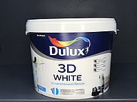 КРАСКА ИНТЕРЬЕРНАЯ Матовая Dulux 3D White BW 10л.